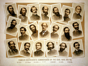 Confederate Commanders of the Civil War