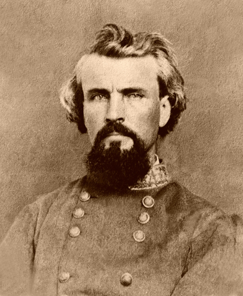 Confederate General Nathan Bedford Forest