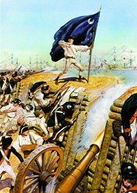 Attack on Charleston South Carolina, June, 1776