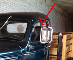 Ghost woman in wardens truck at Alcatraz, 2012, Kristine Castillo