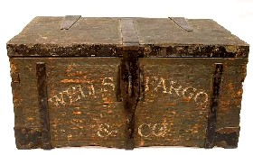 Wells Fargo 1870's Strongbox