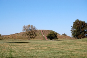 Cahokia Mounds, Monks Mound, October 2010