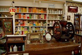 Deck's Pharmacy Museum, Girard, Illinois