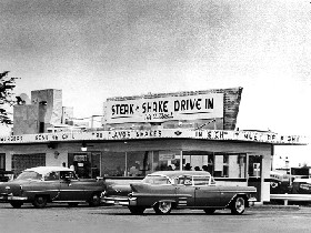 The first Steak n Shake in Normal, Illinois