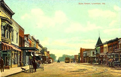 Litchfield Illinois Postcard