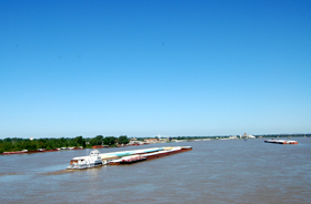 Mississippi River near Cairo, Illinois