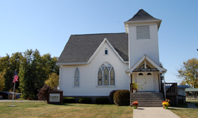 Christian Church in Shirley, Illinois