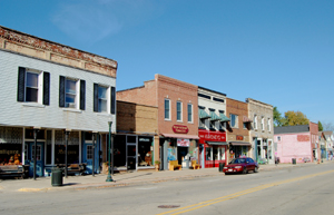 Water Street/Route 66, Wilmington, Illinois