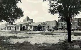 Vintage Abilene, Kansas postcard.