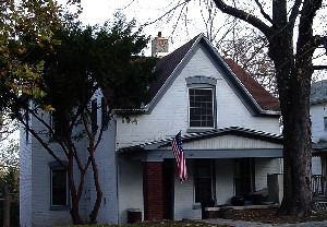 Sallie's House in Atchison, Kansas