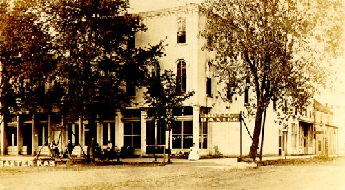Baxter Springs Hotel, 1909