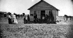 Bender Cabin near Cherryvale, Kansas