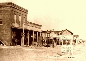 Dodge City, Kansas, 1878