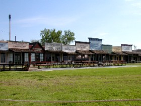 Boot Hill Museum in Dodge City Kansas