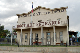 Great Western Hotel in Dodge City, Kansas