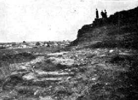 Early Pawnee Rock, Kansas