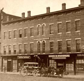 Eldridge House Hotel, 1867, Lawrence, kansas