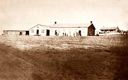 Fort Dodge in Dodge City, Kansas