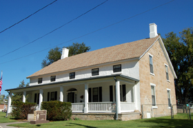 Fort Dodge Officer Quarters once used by General George A. Custer,