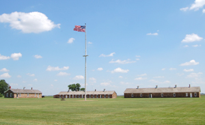 Fort Larned, Kansas Parade Ground