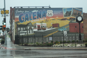 Greetings From Galena, Kansas Route 66 Mural - Jim Hinckley