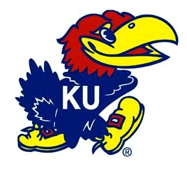 Jayhawk courtesy University of Kansas.