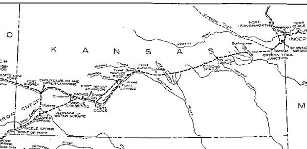 Santa Fe Trail Through Kansas