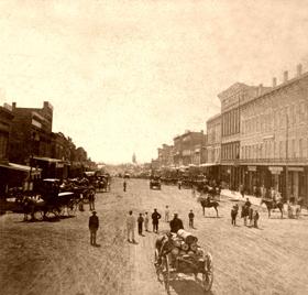 Lawrence, Kansas in 1867