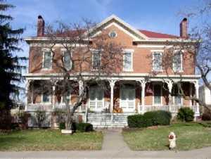 16 and 18 Sumner Place at Fort Leavenworth, Kansas