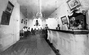 The original Long Branch Saloon, courtesy Ford County Historical Society