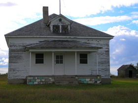 Nicodemus, Kansas school