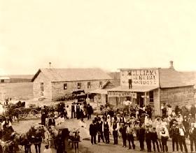 Nicodemus, Kansas 1885