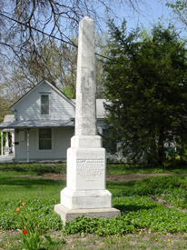 Soldiers Memorial Osawatomie