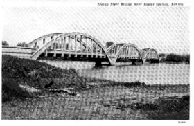 Spring River Bridge, Riverton, Kansas