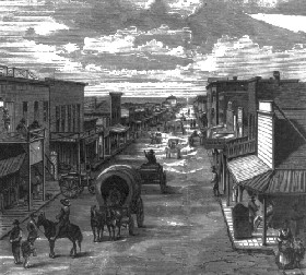Wichita, Kansas in 1874