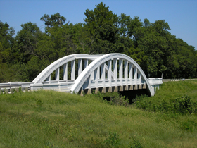 Rainbow Bridge North of Baxter Springs, Kansas