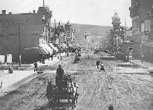 Leadville, Colorado Street Scene, 1904