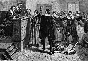 """One of the """"Afflicted"""" in the court"""