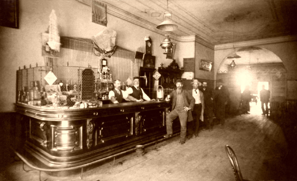 Kraemer's Saloon in Monroe County, Michigan.