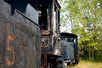 Abandoned Locomotive at Quincy Mine Shaft No. 2, Hancock MI - Dave Alexander September 2014