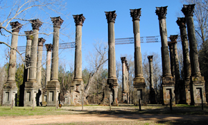 Windsor Ruins near Port Gibson, Mississippi