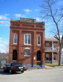 Benton County, Missouri Jail Building