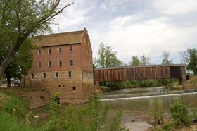 Bollinger Mill and the Bufordville Covered Bridge