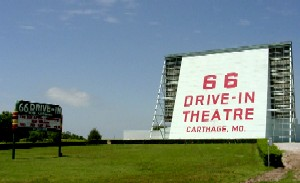 Route 66 Drive-In, Carthage, Missouri