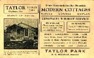 Taylor Tourist Park, Carthage, Missouri
