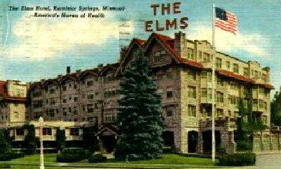 Elms Hotel, Excelsior Springs, Missouri