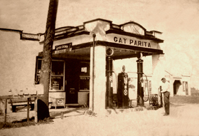 Gay Parita, Paris Springs Junction, Missouri, 1930's.