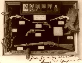Jesse James Guns and Equipment