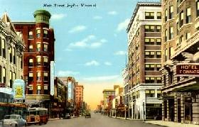 Joplin, Missouri Mainstreet, 1943