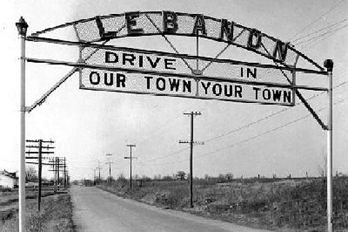 Vintage Lebanon Missouri Postcard